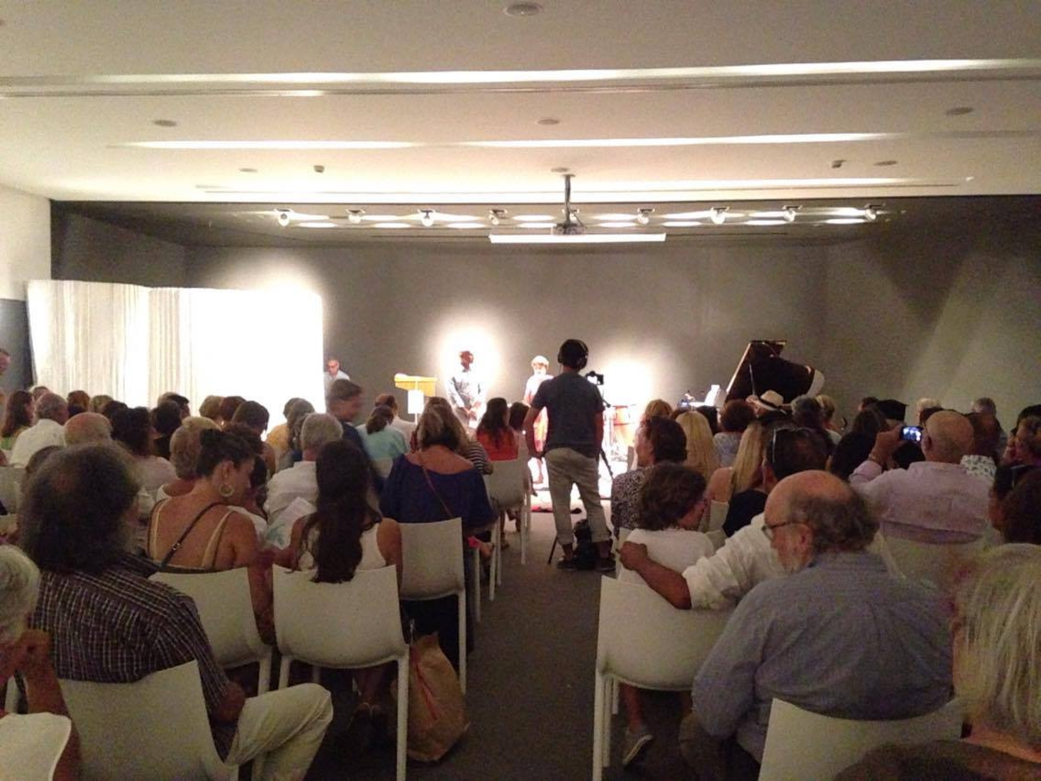 Student concert and theater performance at Patmos Aktis Suites & Spa